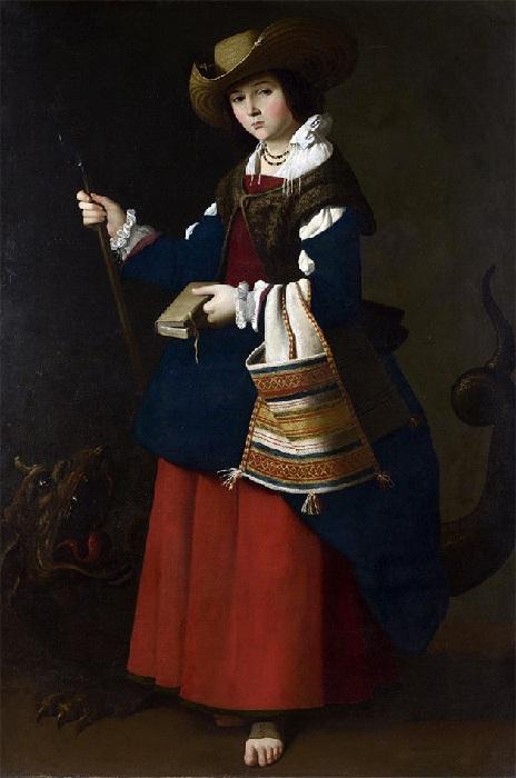 Святая Маргарита, 1630-1634. Лондон, Национальная галерея.
